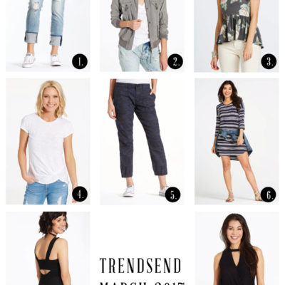 Trendsend by Evereve March 2017