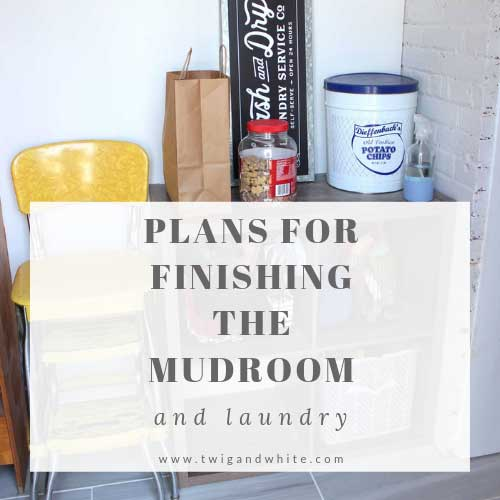 plans for finishing the mudroom